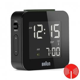 Braun Digitale Radiogestuurde Reiswekker BNC008 Zwart