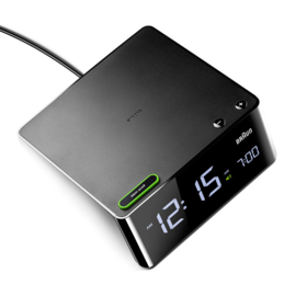 Braun Digitale Wekker BNC016 Zwart met Snoer