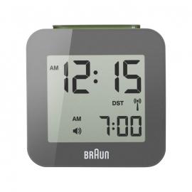 Braun Digitale Radiogestuurde Reiswekker BNC008 Grijs