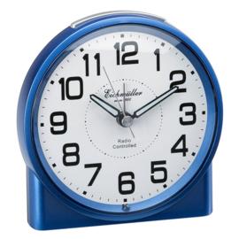 Eichmüller Radiogestuurde Wekker met Stil-Stand Blauw
