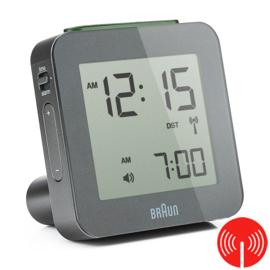 Braun Digitale Radiogestuurde Wekker BNC009 Grijs