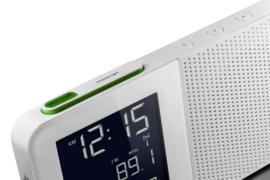 Braun Radiogestuurde Wekkerradio BNC010-SRC Wit