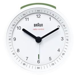 Braun Radiogestuurde Wekker BNC007-DCF Wit