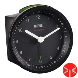 Braun Radiogestuurde Wekker BC07B-DCF Zwart