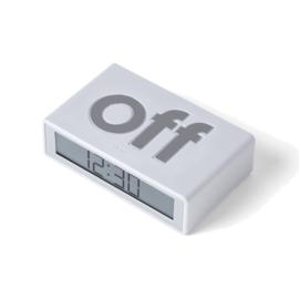 Lexon On/Off Flip Reiswekkertje Wit