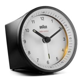 Braun Radiogestuurde Wekker BC07BW-DCF Zwart/Wit