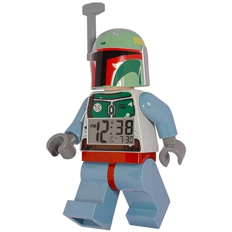 LEGO Star Wars Wekker Boba Fett 20cm