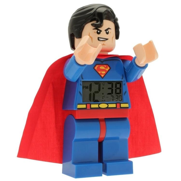 LEGO Superhelden Wekker Superman 20cm