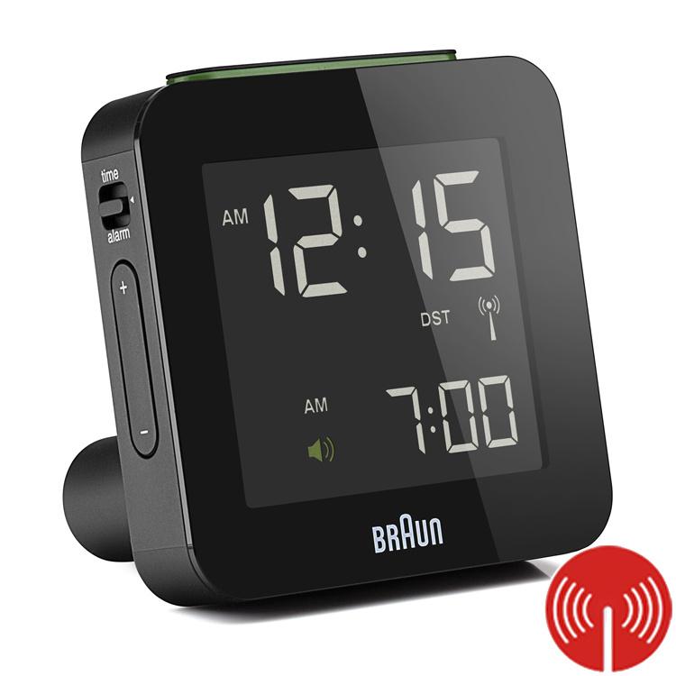 Braun Digitale Radiogestuurde Wekker BNC009 Zwart