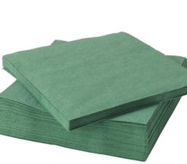 Servetten, groen