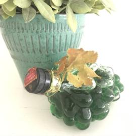 Vintage likeurfles(incl. inhoud) druiventros