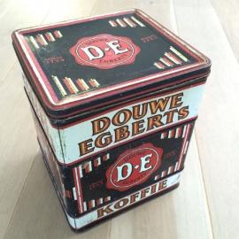 """Vintage blik """"Douwe Egberts"""""""