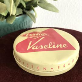 """Vintage blikje Vaseline, """"Esüdro"""""""