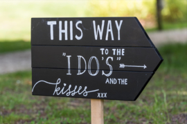 "HUREN bord: ""This way to the I DO's and the Kisses"" ♥ Nr. 5"