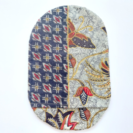 """Stoma cover/ hoesje """"Indonesische print"""""""