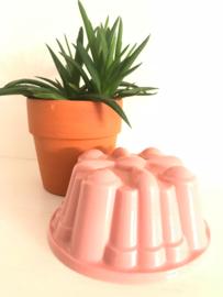 Vintage puddingvorm roze