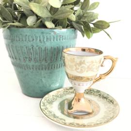 Vintage kop en schotel,  99
