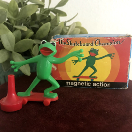 "Vintage ""Magneto"" Spielwaren; ""The skateboard Champion"", nr. 3142, Collecters item!"