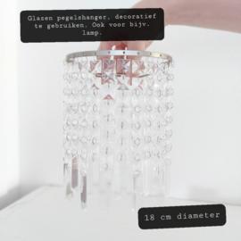Huren:  Decoratieve pegelshanger, Ø 18 cm