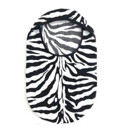 """Stoma cover/ hoesje """"zebra"""""""