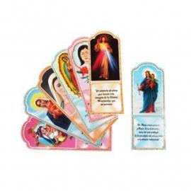 SALE: Boekenleggers heiligen (5 stuks)