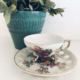 Vintage kop en schotel, 108