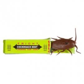 Kauwgum met kakkerlak ( grapje)