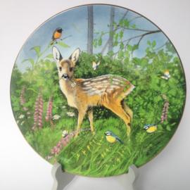 "Vintage bord bambi ""Walty"" Summer of seasons, nr. 4532"