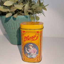 Vintage blikje van Maggi bouillon blokjes