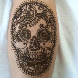 """Henna """"tattoo's"""" voorbeelden van """"eigen hand"""""""