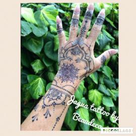 """Jagua tattoo's voorbeelden van """"eigen hand"""""""