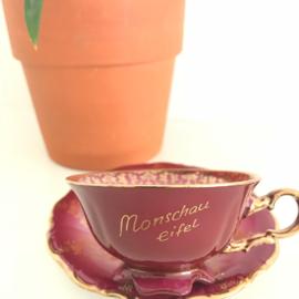Vintage kop en schotel 35, Waldershof, Bavaria, Germany