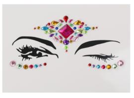 Face Jewels/ gezichts juwelen/stenen voor op gezicht nr 2.35