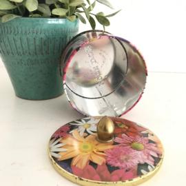 Vintage blik bloemen Cote dór nr. 1