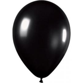 Ballonnen(10) zwart + krijtstift