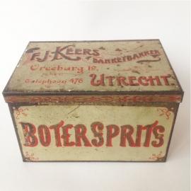 Vintage blik Keers, Botersprits