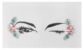 Face Jewels/ gezichts juwelen/stenen voor op gezicht nr 2.37