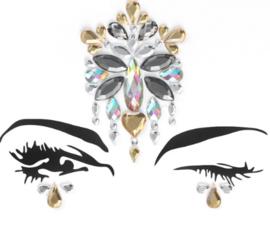 Face Jewels/ gezichts juwelen/stenen voor op gezicht nr 2.38