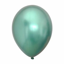 Metallic ballonnen(10) groen