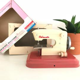 """Vintage Franse kinder naaimachine, """"Macousette"""", jaren 70"""
