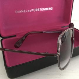 Vintage zonnebril Diane von Furstenberg
