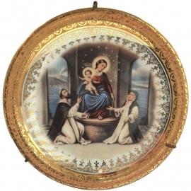 Vintage bord Ave Maria, Limoge porselein