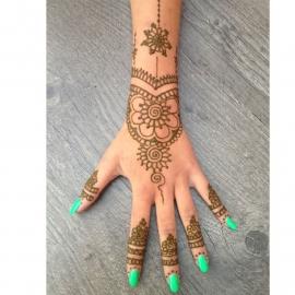 """Hand Henna """"tattoo"""""""