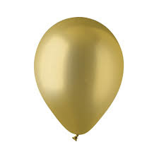 Metallic ballonnen(10) goud