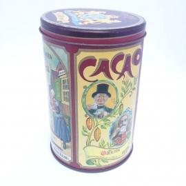 Vintage blik van Houten's Cacoa