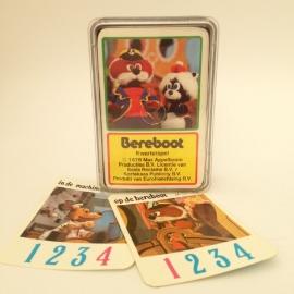 """Vintage kwartet spel """"de Berenboot"""""""