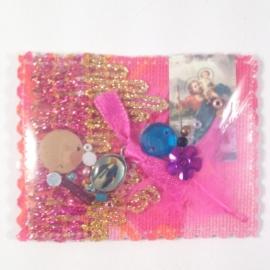 Reli amulet met St. Christoffel