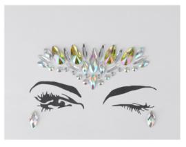Face Jewels/ gezichts juwelen/stenen voor op gezicht nr 2.22