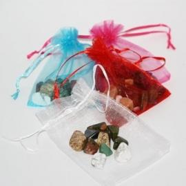 Gelukssteentjes in een zakje