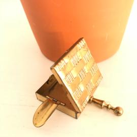 Vintage mini asbakje koper